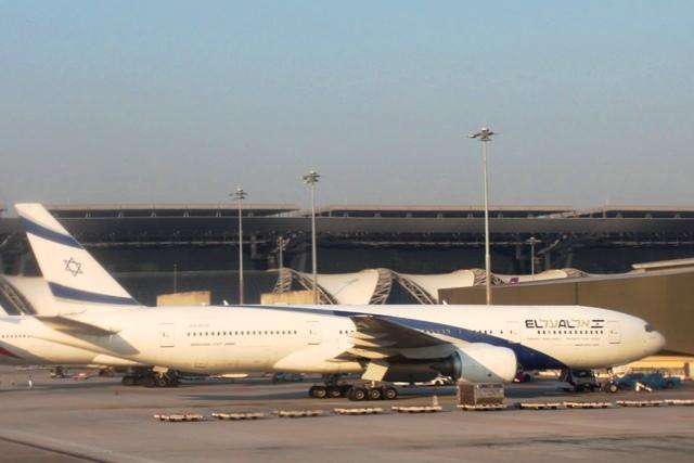 イスラエル航空B777-200機