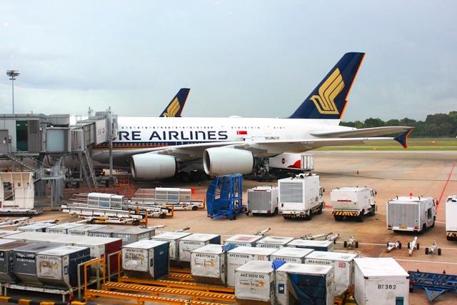 シンガポール航空A380機