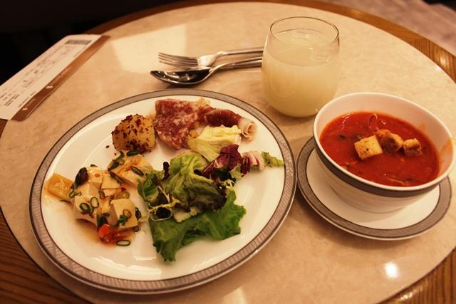 スープや前菜