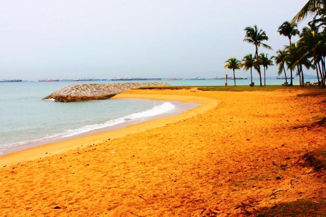 イーストコーストのビーチ