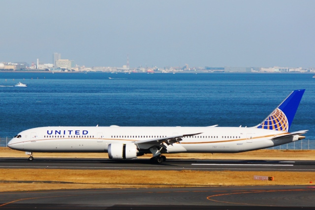ユナイテッド航空787-10