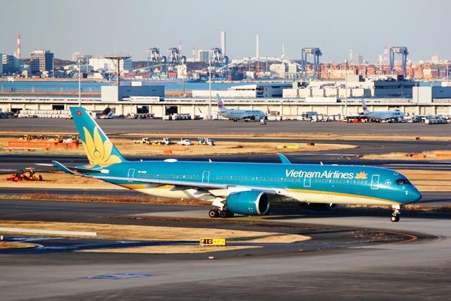 ベトナム航空A350