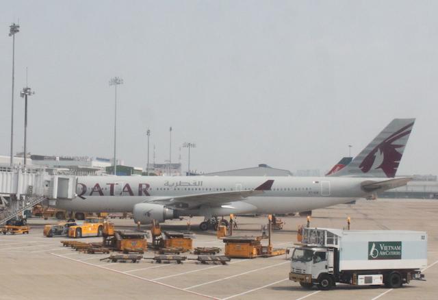 カタール航空A330機